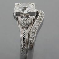 Vintage Diamond Ring and Band