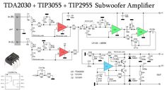 Subwoofer Home Theater Amplifier circuit is designed for subwoofer speaker system that used on Subwoofer Home Theater system.Using IC as a based filtering subwoofer signal input and as a buffer it's power amplifier Hifi Amplifier, Subwoofer Speaker, Powered Subwoofer, Loudspeaker, Audiophile, Speakers, Arduino, Home Theater Amplifier, Radios