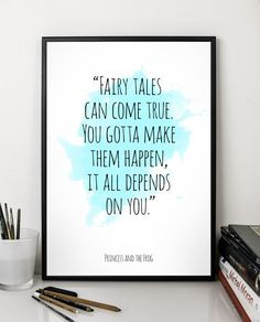Hey, I found this really awesome Etsy listing at https://www.etsy.com/listing/227469852/fairy-tales-princess-and-the-frog-quote