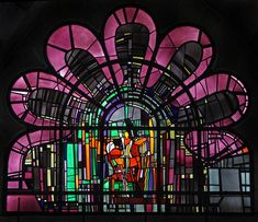 Gereon in Köln Mosaic Glass, Stained Glass, Glass Art, Window Panels, Color Theory, My Arts, Mosaics, Portal, Image