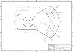 Shah Alam, Blue Prints, Cad Drawing, Drawing Practice, Mechanical Engineering, 3d Modeling, Technical Drawing, Autocad, 1