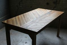 i want to make a table!