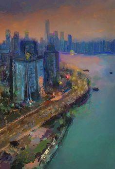 New painting just uploaded to my gallery at www.eduardotavaresart.com!