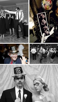 Bad dancing and photo booth. I can only wish I'll have at least one of these but hopefully both.