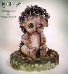 "Sugar sculpture ""The Hedgehog"" by Lera Ivanova"