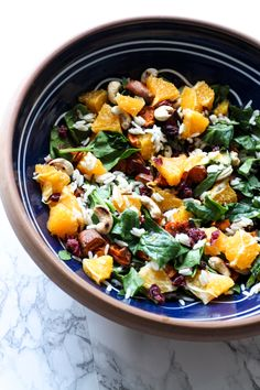 Our go-to salad - Sweet Potato, Cashew, and Cranberry Salad with Honey Mustard Dressing  - sounds so good!