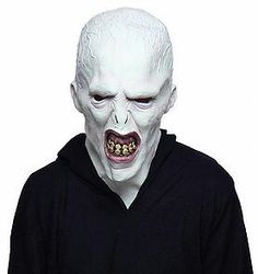 It is definitely one creepy mask if you know what Voldemort has done. http://www.harrypotterproductreviews.com/single-post/2016/07/20/Want-to-be-Voldermort