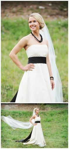 Charitable blue and black wedding inspiration, LisaAnne Photography, via Aphrodite's Wedding Blog