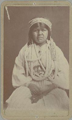 Wife of Captain Tom - Maidu – 1874