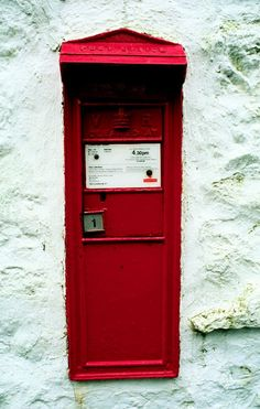 Victorian Letter Box, Hubberholme, North Yorkshire