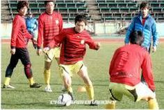 Entrenando con el Chunnam Dragons