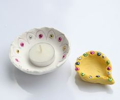 Create your own Diya with Kids to learn about Diwali a Hindi Festival of Lights. A art activity for global kids.