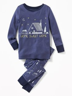 """12-18 months. Home Sweet Home"""" Sleep Sets for Toddler & Baby"""