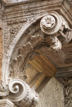 Beautiful corbel detail in Siena (1) From: Marie Antoinette's Play House