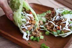 5 Spice Asian Turkey Lettuce Wraps. I find it best if you use bib lettuce