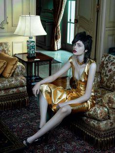 Thairine Garcia by Gui Paganini for Harper's Bazaar Brazil November 2013