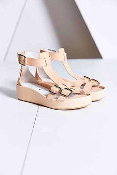 Cute platform sandals