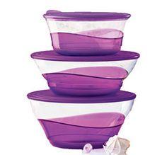 Tupperware | Sheerly Elegant(r) Serving Bowl Set