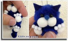 pom poms cat | kira-waldman | Flickr