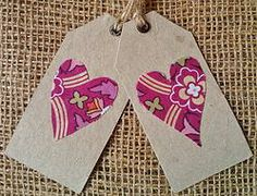 Heart - Gift Tag - Tree-free Gift Tags, Stationery, Drop Earrings, Heart, Cards, Gifts, Free, Products, Stationeries