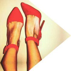 Blood Orange Qupid heels.