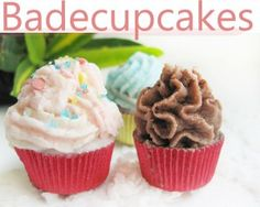 Bade-Cupcakes selbst gemacht