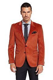 'Rhett' | Extra Slim Fit, Cotton Corduroy Sport Coat #bossblack