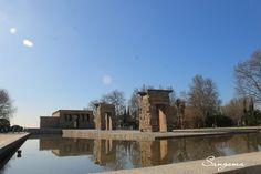 """""""Templo de Debod"""" Madrid, España. BySangoma #places #sangoma #sango_photo #bysangoma #photograpy #photographer #sangomatravel #toursangoma"""