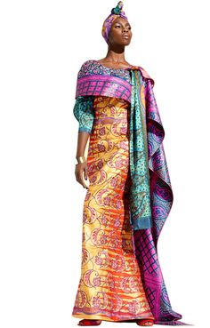 Vlisco collection Palais des Sentiments | May 2012. REGAL...sure to bring out the African Princess/queen in you,,