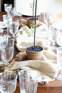 Thankful Table Decor by Little Cottage on the Pond