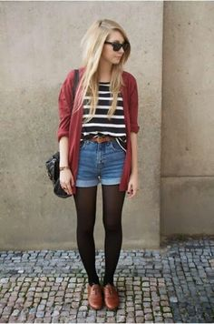 I can't wait for it to be warm enough to wear outfits like this again