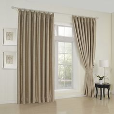 (Two Panels) Elegant Embossed Blackout Thermal Curtain  – USD $ 99.99