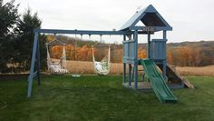 Our teen swing set makeover!
