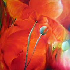 "Annette Schmucker, ""Roter Mohn IV"" With a click on 'Send as art card', you can send this art work to your friends - for free!"