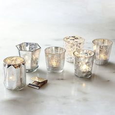 Mercury Tealights | west elm