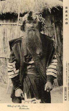 Ainu chief, Hokkaido