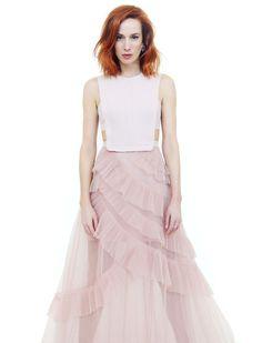Táňa Pauhofová: Aj v samote sa môže skrývať naplnenie Tulle, Skirts, Fashion, Moda, Fashion Styles, Tutu, Skirt, Fashion Illustrations