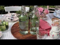 La décoration de table printanière d'Yvonne