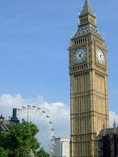 Go up Big Ben.