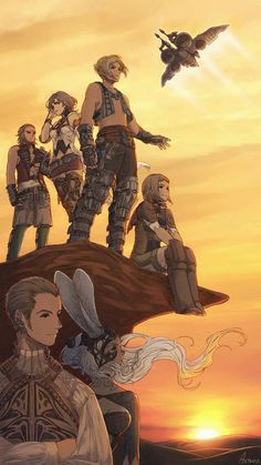 Final Fantasy 3, Final Fantasy Artwork, Fantasy Series, Anime Fantasy, Fantasy World, Geeky Wallpaper, Cg Artwork, Fantasy Pictures, Fantasy Characters
