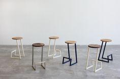 hollis+morris, hollis and morris, modern furniture, mischa couvrette, modern stools
