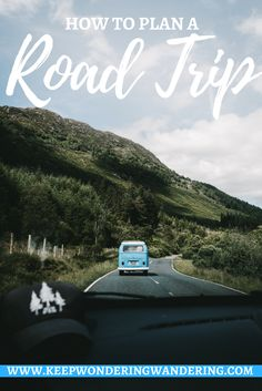 If you want to know how to plan a road trip, then this is the post for you! While traveling is fun regardless, there's something nostalgic about road trips.