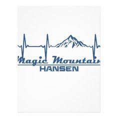 #Magic Mountain  -  Hansen - Idaho Letterhead - #office #gifts #giftideas #business