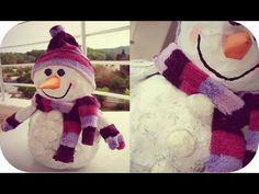 Новогоднее вдохновение. Снеговик Hand Made - YouTube