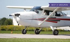 Groupon - C$ 89 for a 75-Minute Introductory Flight Experience in a C-152 at Canadian Flight Academy (C$183 Value) in Oshawa. Groupon deal price: C$89