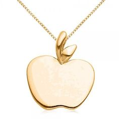 apple necklace petite apple pendant delicate sterling silver jewelry