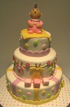 """Daddy's"" Baby Shower Cake"