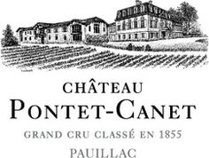 Château Pontet-Canet Grand Cru Classé en 1855 à Pauillac... wine