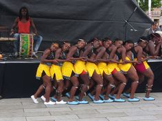 Intombi Zomqangala is a group of young women aged 16-30 years. It was formed by Bulawayo musician/dancer Sandra Ndebele & advocates for culture preservation while empowering young women with various talents.   The name Intombi Zomqangala comes from a traditional Ndebele instrument called Umqangala (Breast Calabash) which was used by young women back in the day. All group members play the instrument.   Picture: Kinder Kultur Karawane 2011, German Arts Festival.  http://intombizomqangala.com