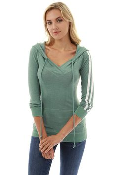 6eae13d9270 PattyBoutik Women's Hooded Crossover V Neck Trim Tunic 4.7 out of 5 stars  57 customer reviews | 3 answered questions Price: $39.99